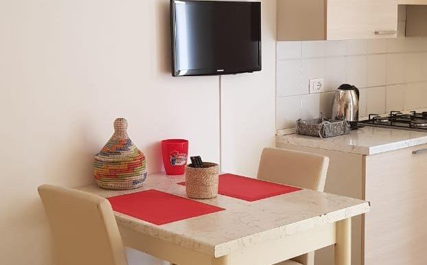 sala da panzo e cucina